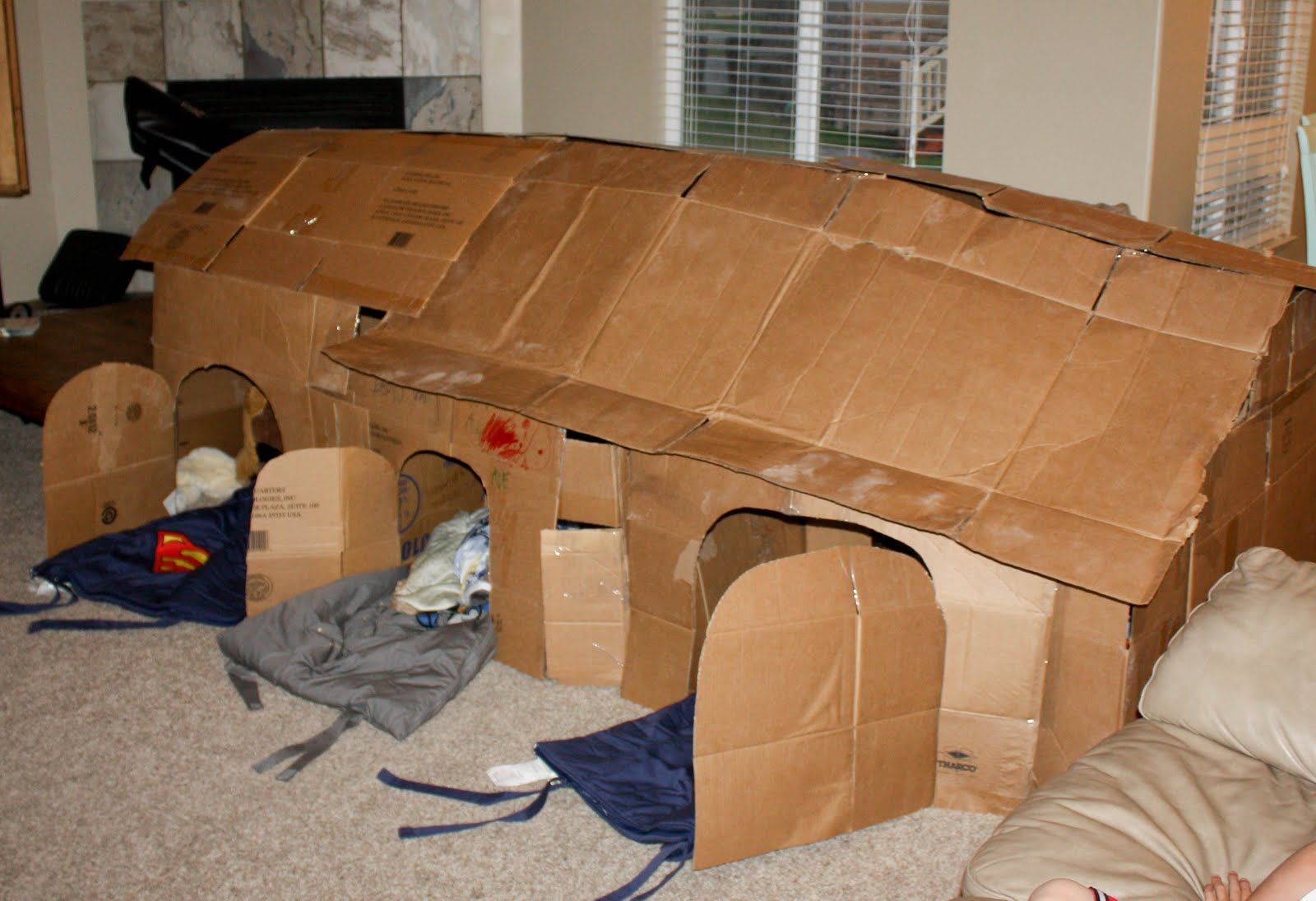 how to make a homemade fort